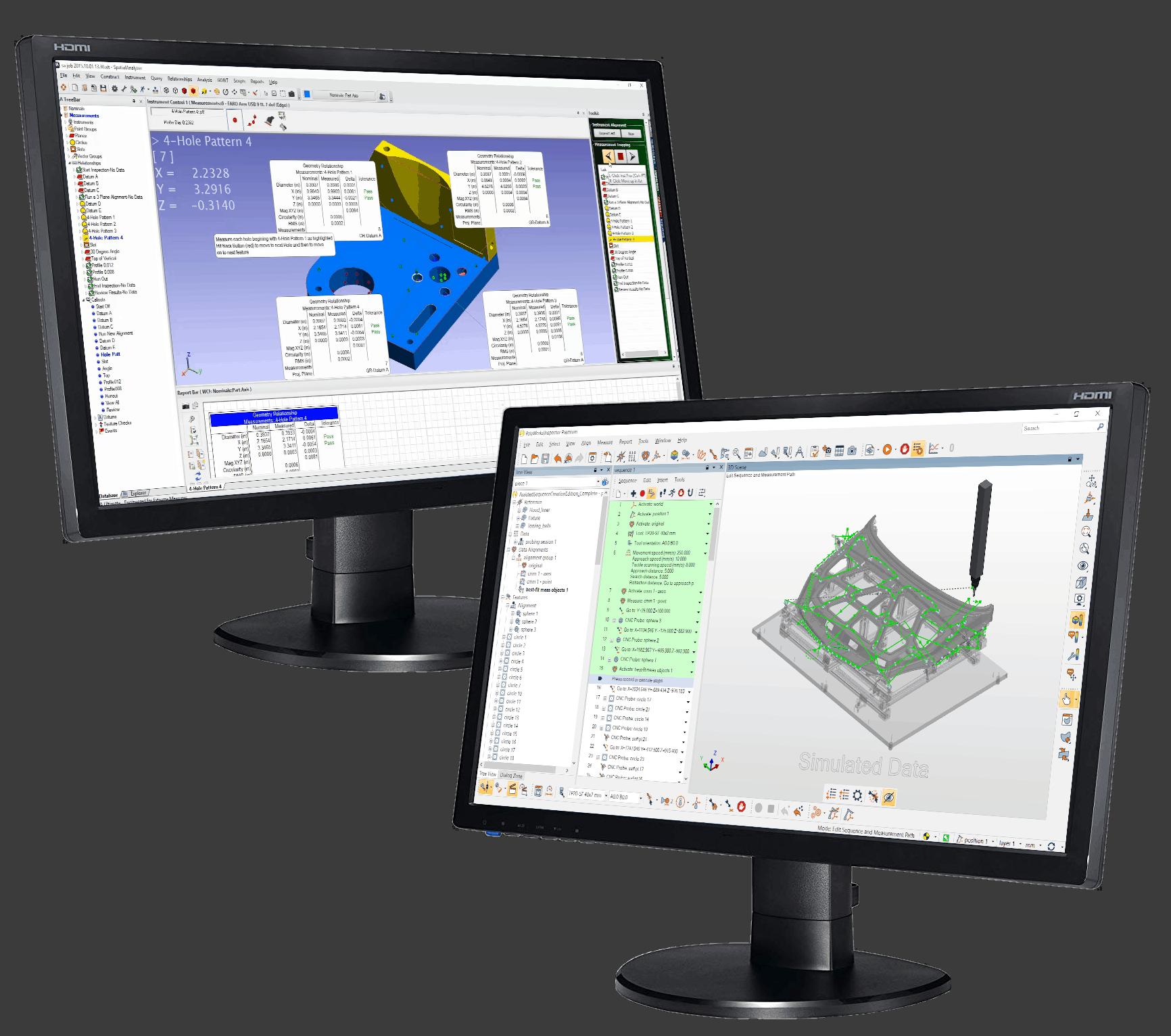программное обеспечение PolyWorks Spatial Analyzer