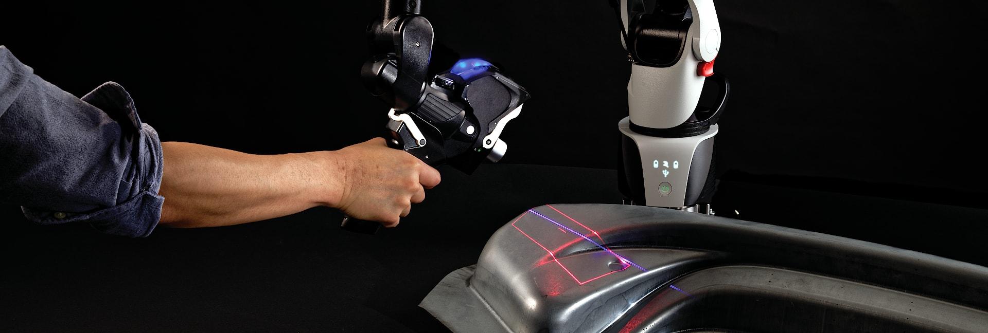координатно измерительные руки со встроенным сканером