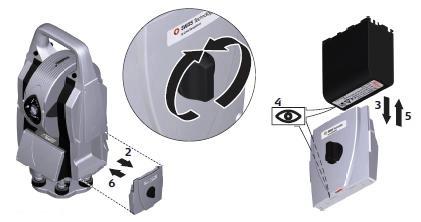аккумуляторы лазерного трекера